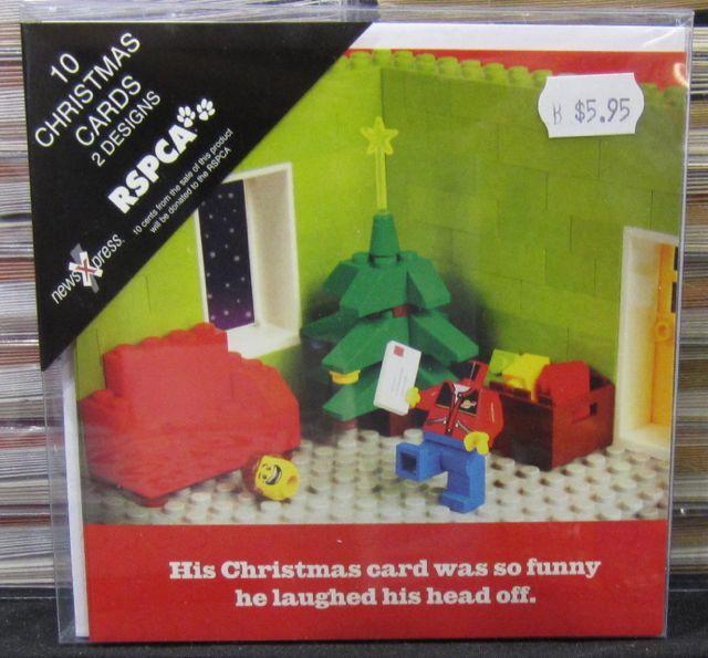 Lego Christmas cards a hit at newsXpress | Australian Newsagency Blog
