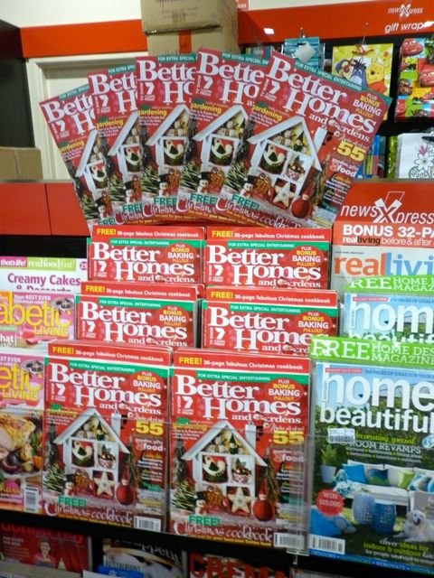 Promoting the better homes and gardens christmas feature Better homes and gardens location
