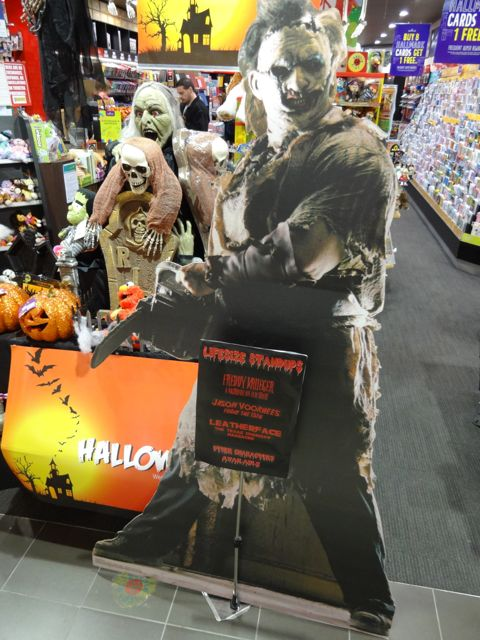 Off Lease Only >> Scary cardboard cut-outs popular for Halloween ...