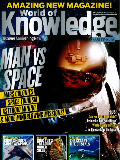 the science of magazine allocations continues to amaze me we did not sell any copies of the launch issue of world of knowledge believing in the title