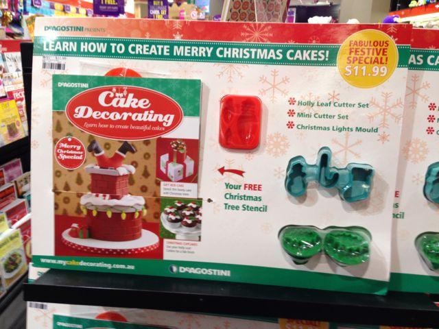 Christmas Cake Decorating Timely Australian Newsagency Blog