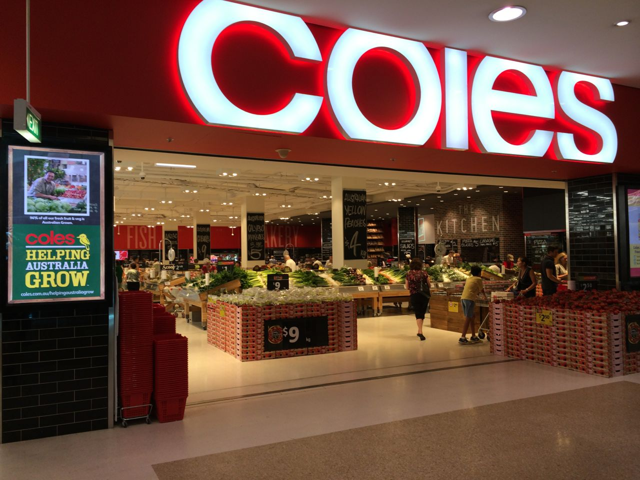 coles myer is australias largest retailer Coles myer is australia's largest retailer with more than 1,900 stores throughout australia and new zealand serving more than 45 million customers every week.