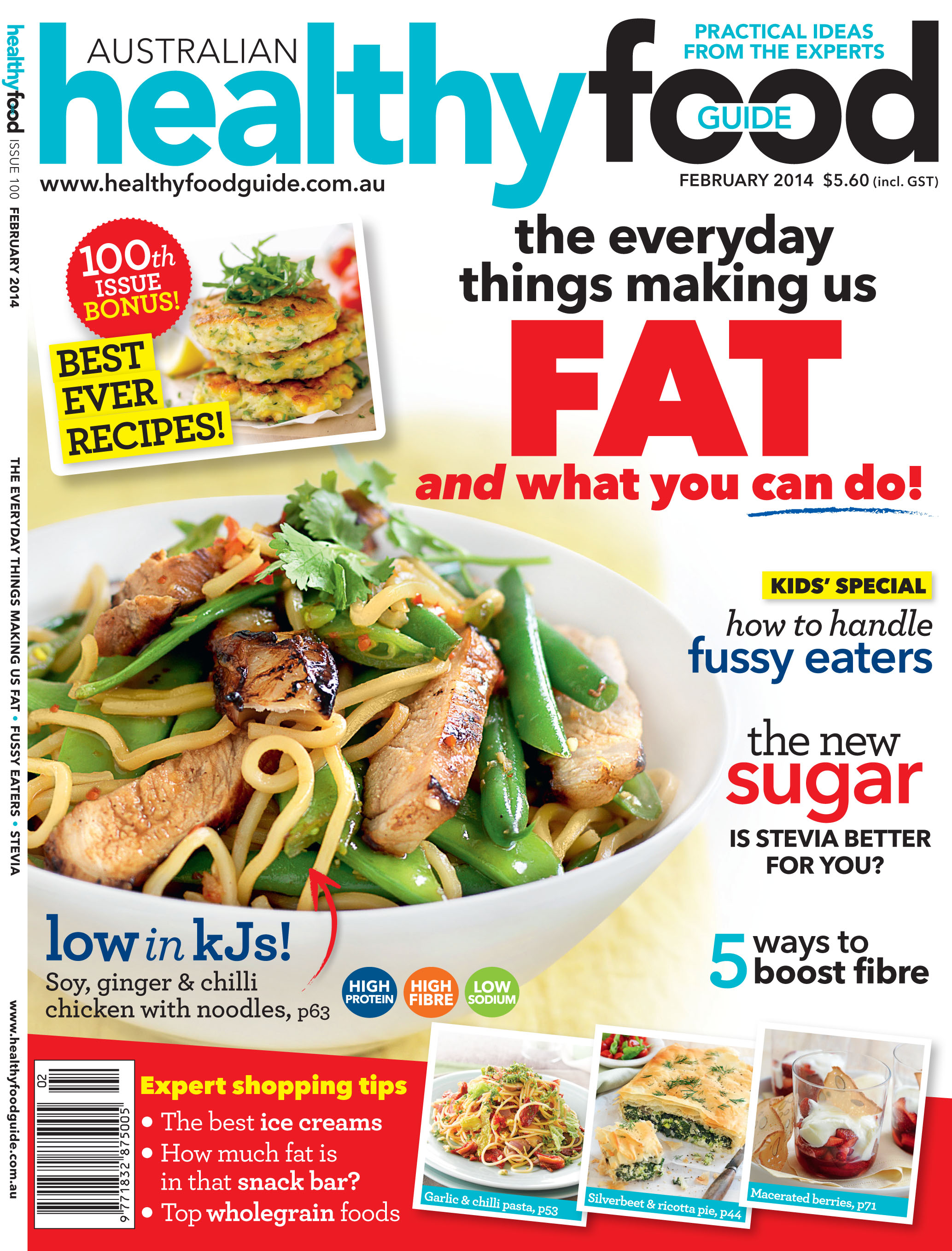 Celebrating the 100th issue of australian healthy food guide hfg 0214cover final forumfinder Image collections