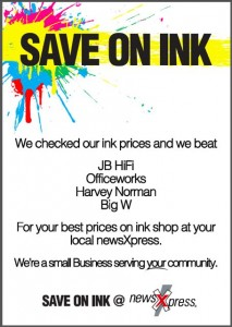 save-on-ink