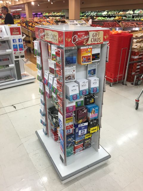 Coles reminder on gift cards australian newsagency blog a visit to your local coles is a good reminder about the placement of gift cards this time of the year in one coles i was in yesterday they placed gift negle Gallery