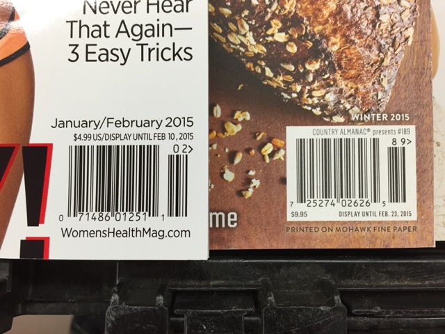 useful magazine barcode info could help newsagents save