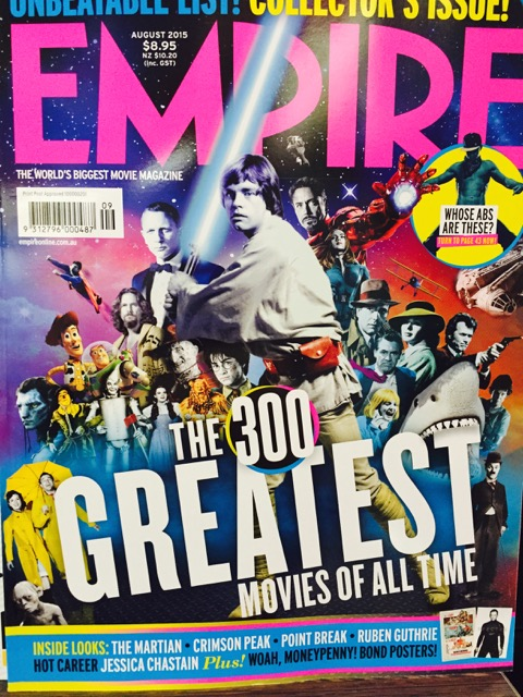Pitching Empire Magazine With The Full Cover