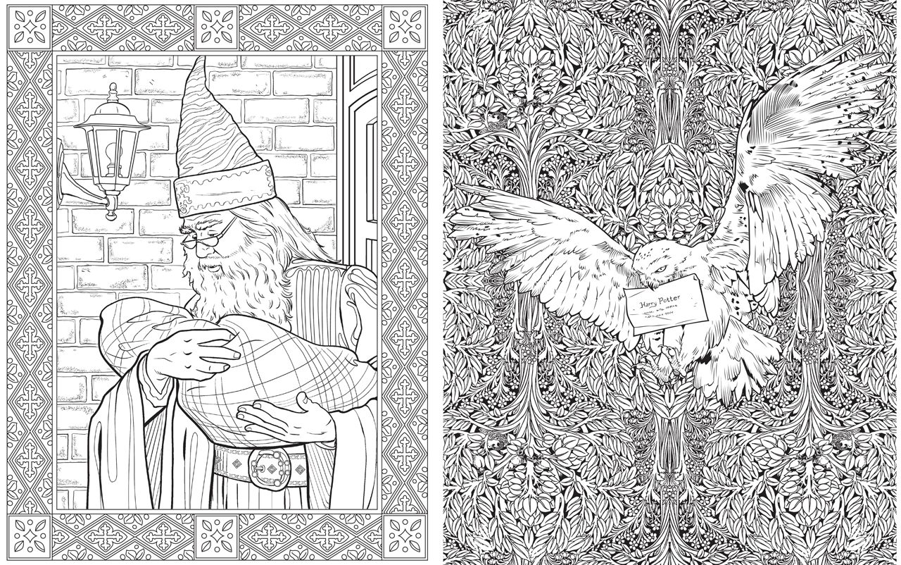 Hp Adult Colouring 3