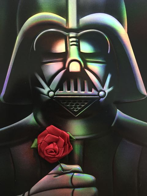 Schön I Love This Darth Vader Valentineu0027s Day Card As It Helps Is Make A  Considerably Broader Appeal For The Season. Too Many Valentineu0027s Day Cards  From All ...