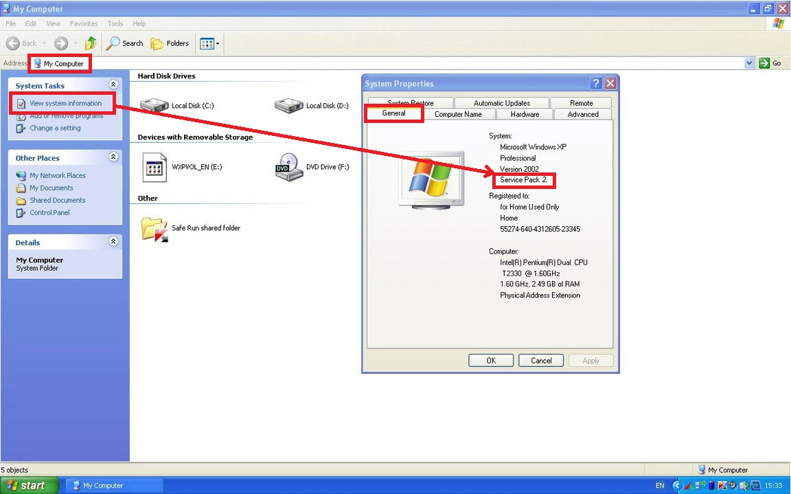 how to download windows xp professional service pack 2