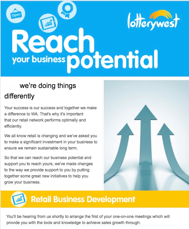 lotterywest business plan