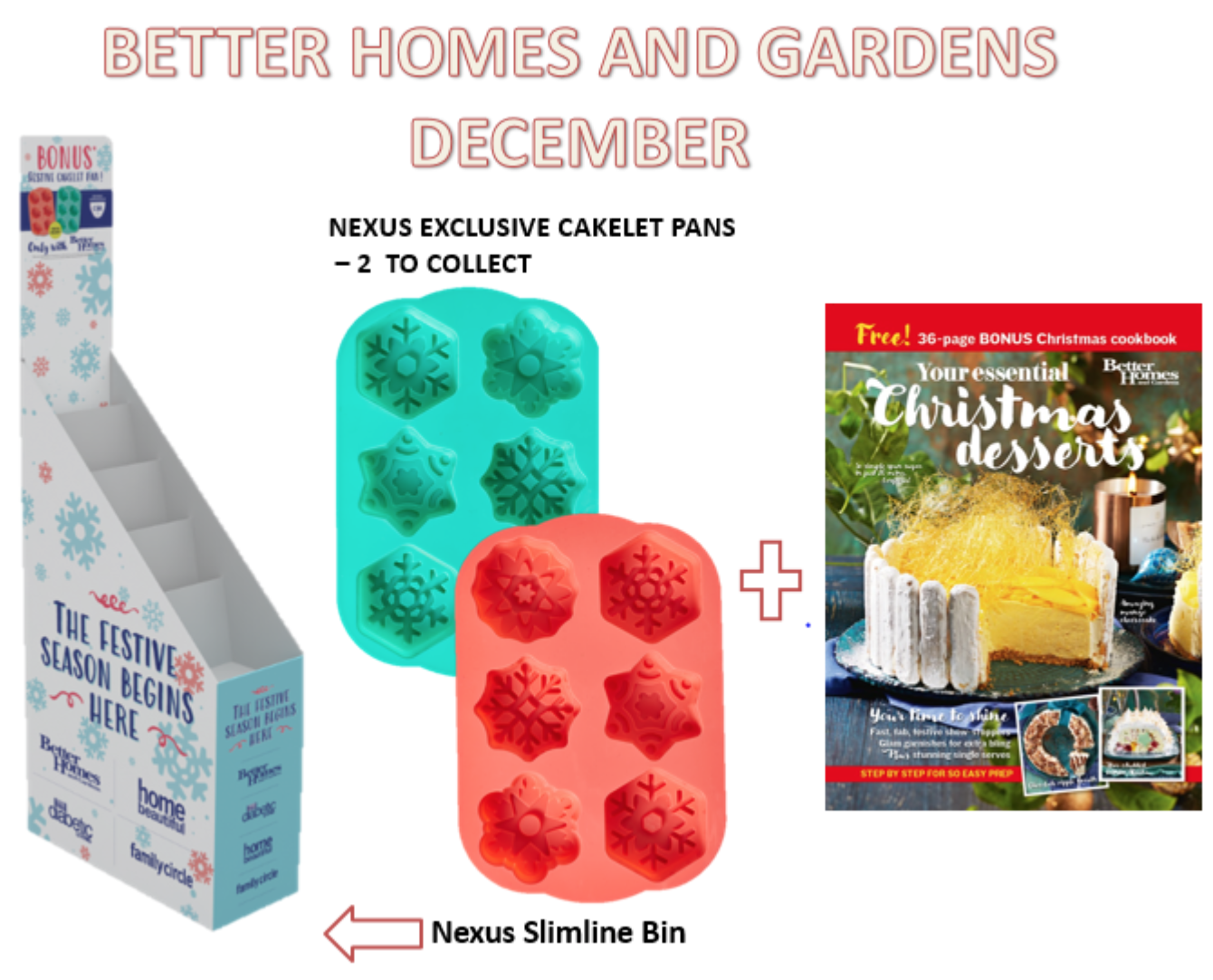 Make The Most Of Terrific Better Homes And Gardens Christmas Gift Offer Australian Newsagency Blog