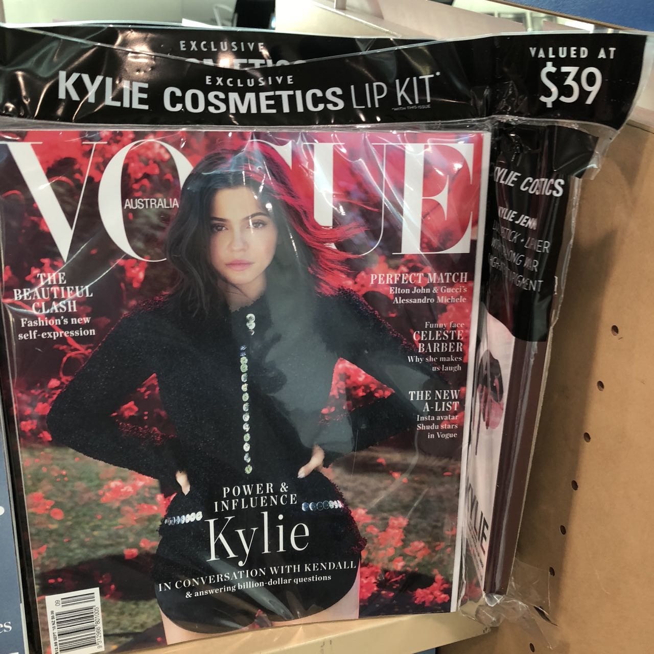 The Kylie Jenner Vogue is still available