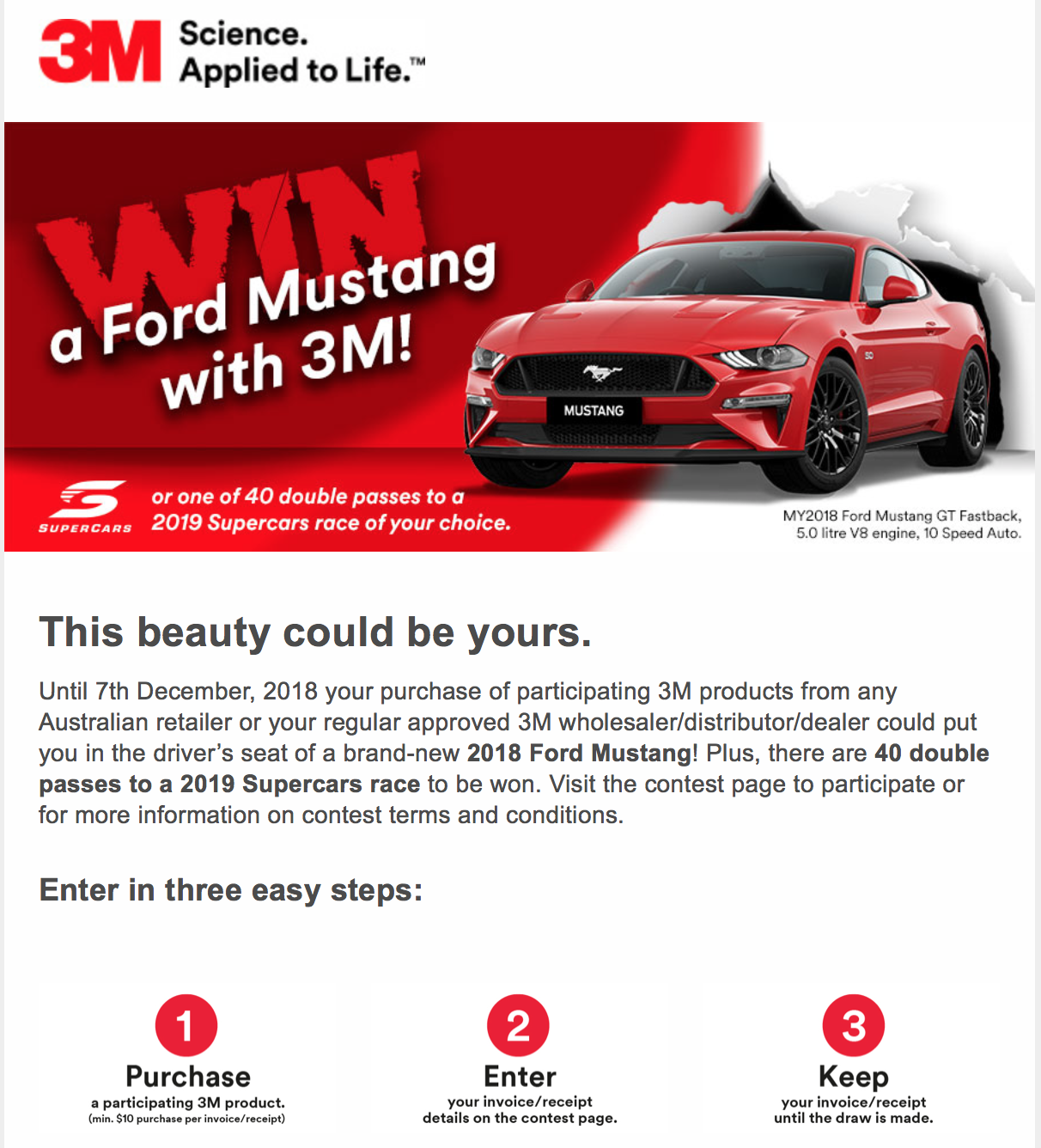 3M promotion helps us sell more stationery